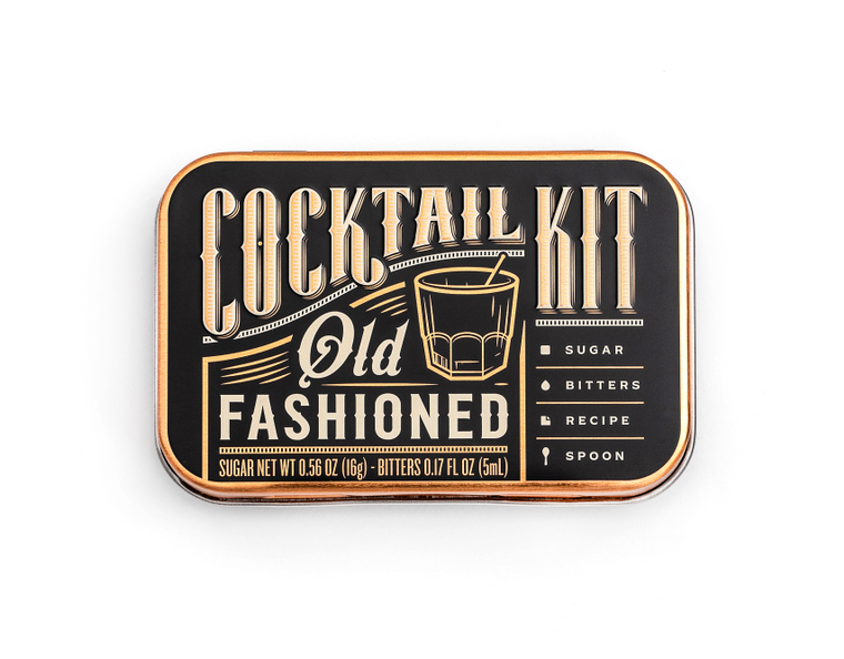 Cocktail Kit Casepack: Old Fashioned