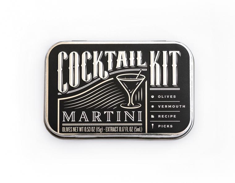 Cocktail Kit Casepack: Martini