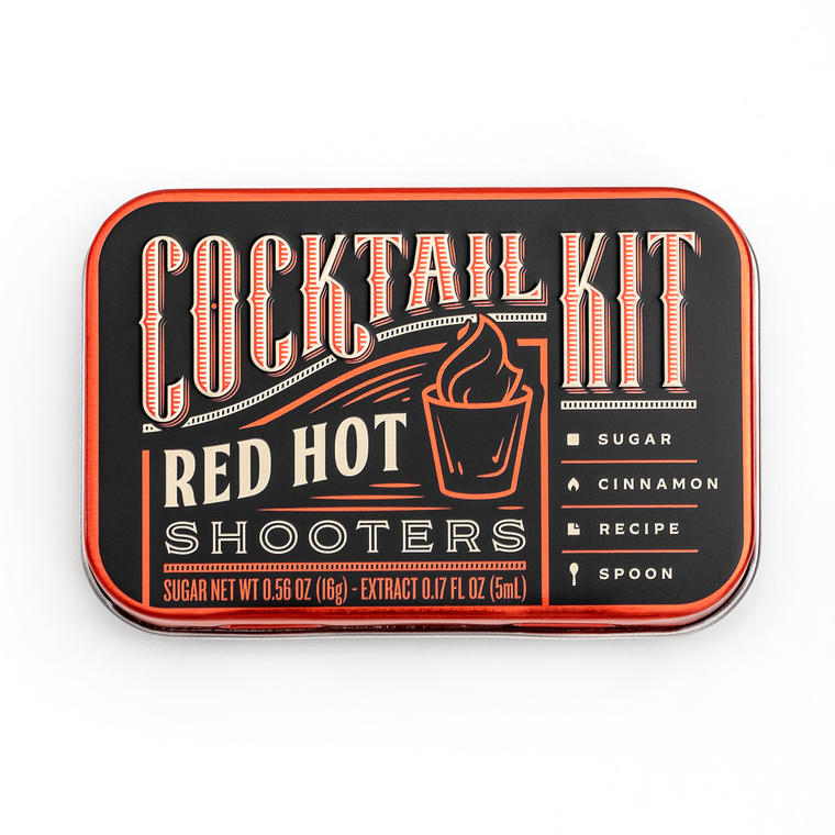 Cocktail Kit Casepack: Red Hot Shooters
