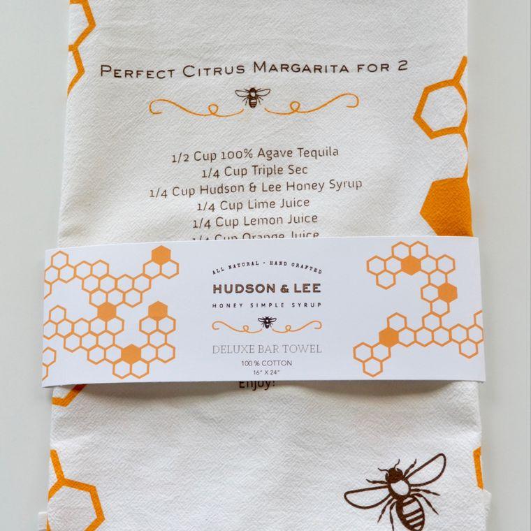 Hudson & Lee Tea Towel with Recipe Print