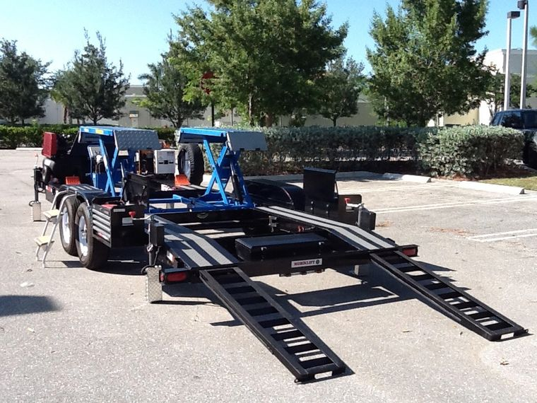 Mobiklift trailers