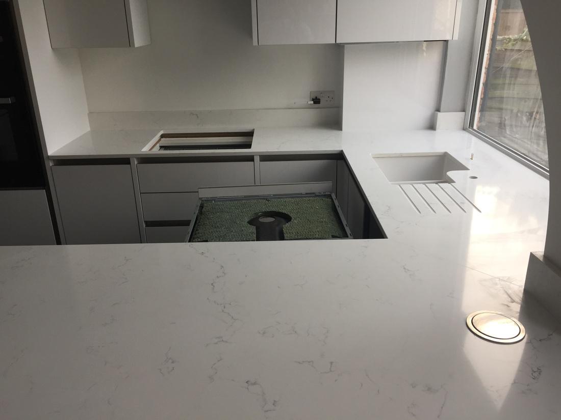 Stone kitchen worktops