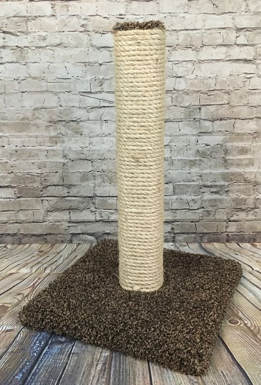 Guaranteed scratching post