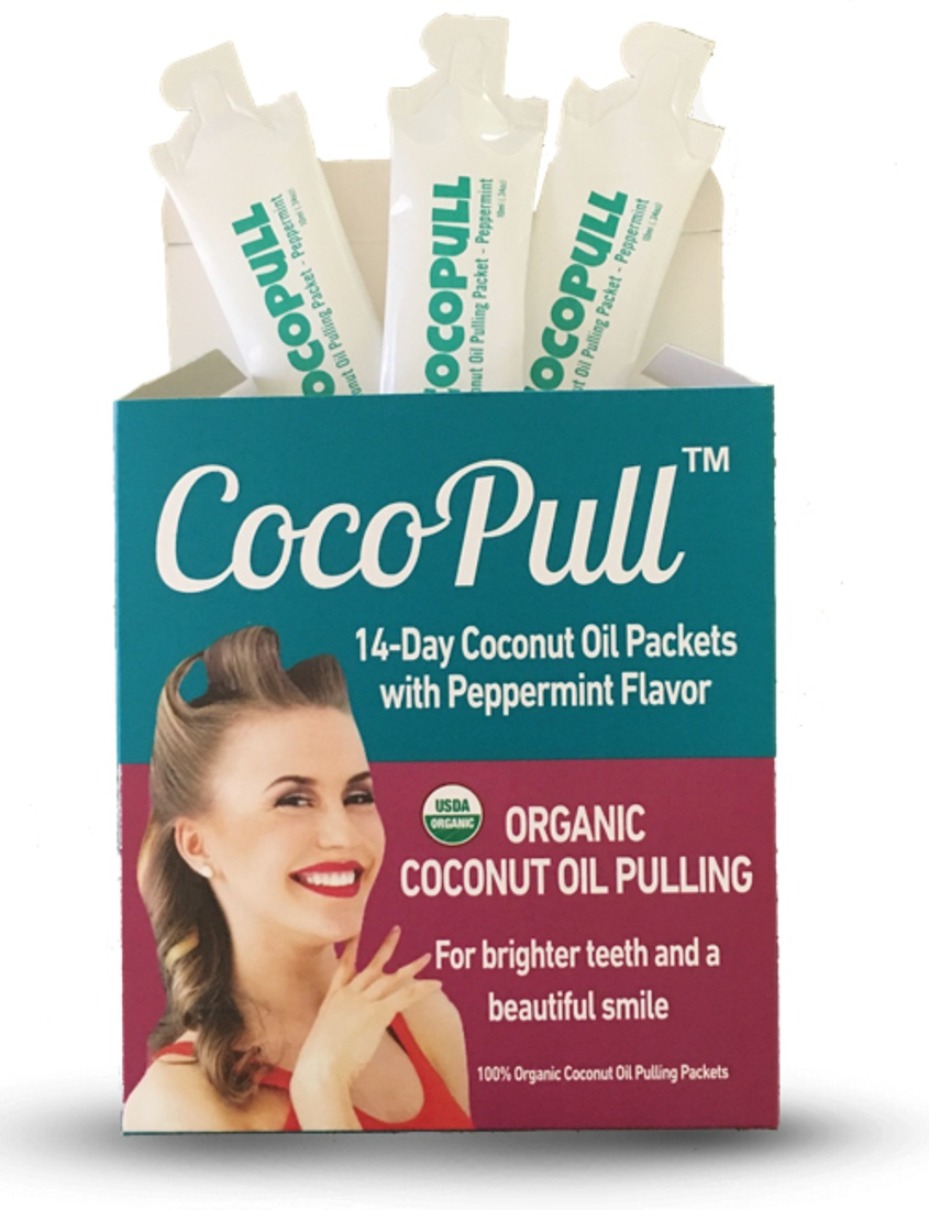 Cocopull USDA Certified Coconut Oil Pulling Teeth Whitening