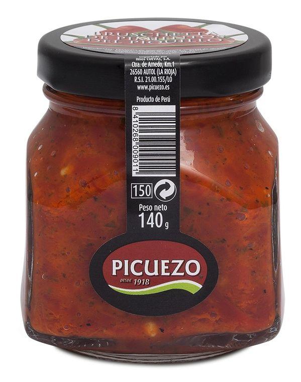 Piquillo pepper bruschetta