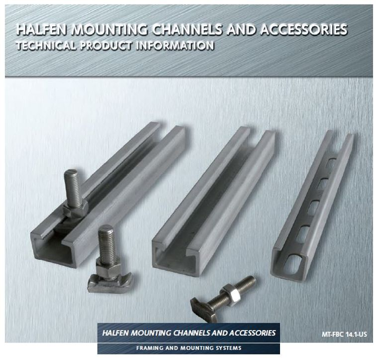 Halfen Industrial Mounting Channel