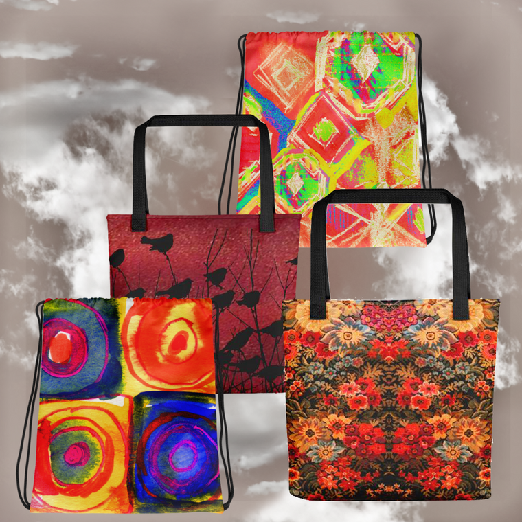 Paris METRO Couture: Original Tote Bag Collection