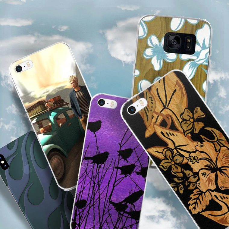 Original Cell Phone Cases for Latest iPhones & Samsung