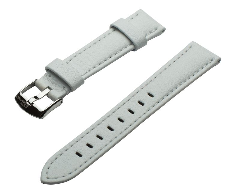 SWISS REIMAGINED Watch Band - Leather Polished - Stainless Steel Buckle