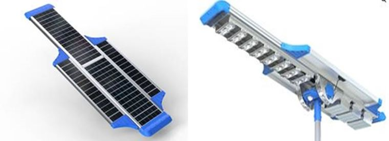 Integrated Solar Street Lights