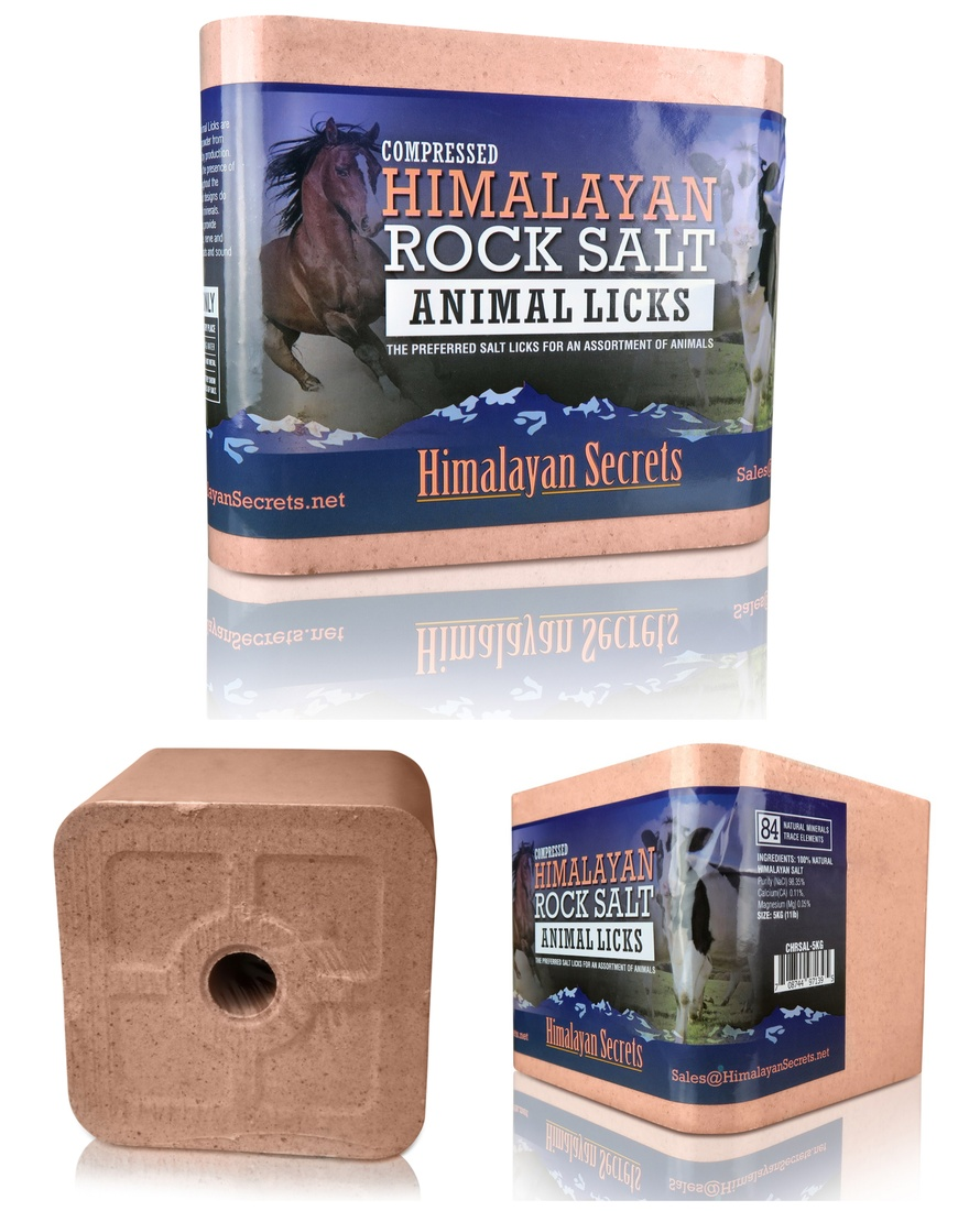 Compressed Himalayan Salt Licks