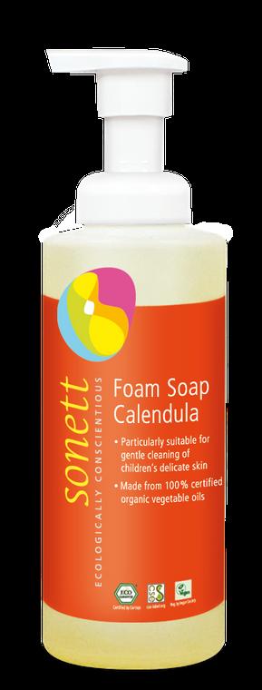 Sonett Eco Calendula Foam soap for Children 200 ml / 6.8 fl oz