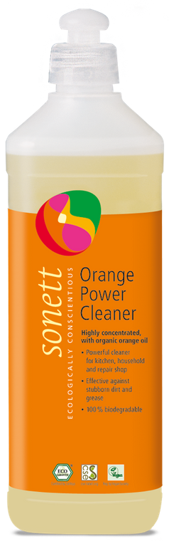 Sonett Eco Orange Power Cleaner, 17 Fl. Oz / 0.5 L