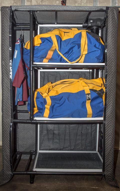 Temperature Controlled Sports Locker