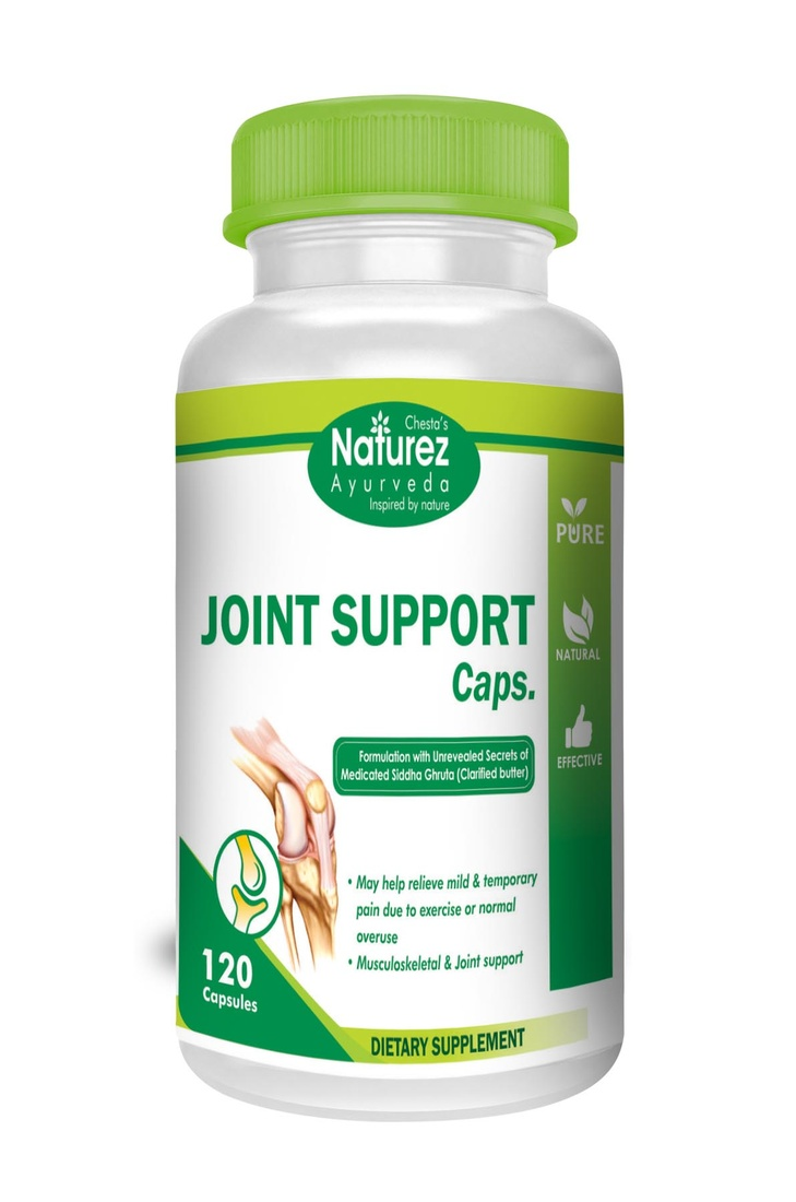 Naturez Ayurveda Joint Pain Relief— Most Powerful Natural Anti-Inflammatories Available to Support Strong Muscle and Joints, Supplement to Ease Minor Aches & Pains (60 days supply)