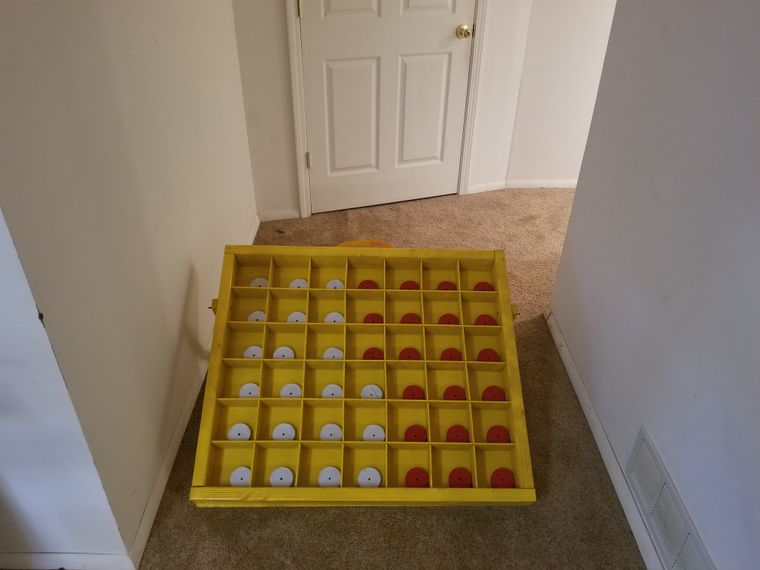 Back yard connect 4