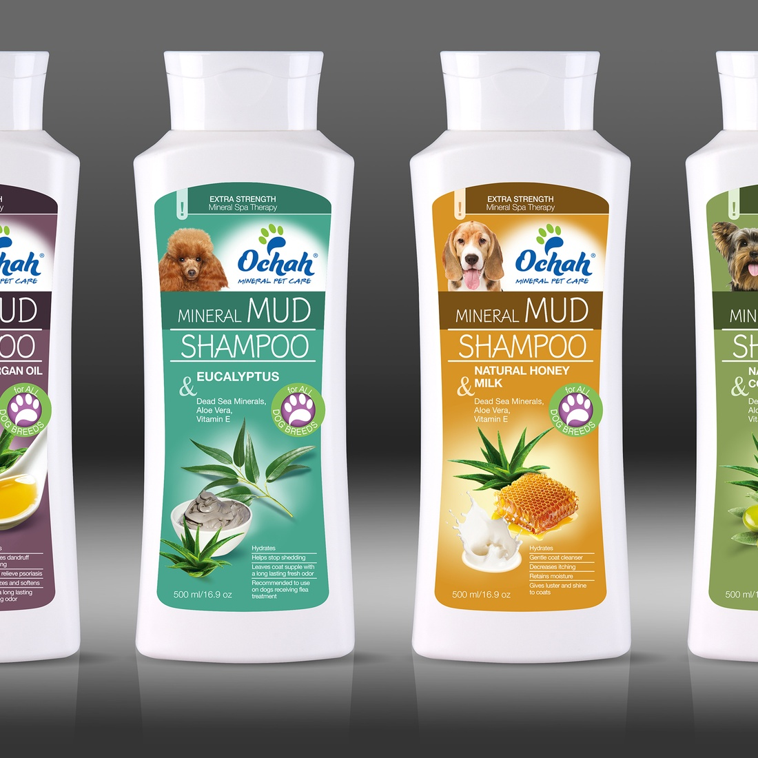 Dead Sea Mineral Mud and Salt Shampoo For Dogs