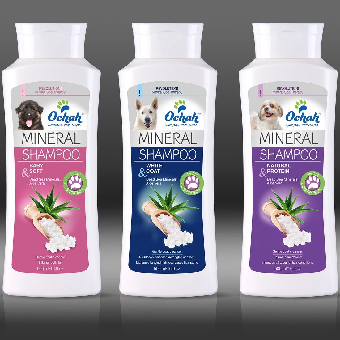 Dead Sea Mineral Salt Shampoo For Dogs