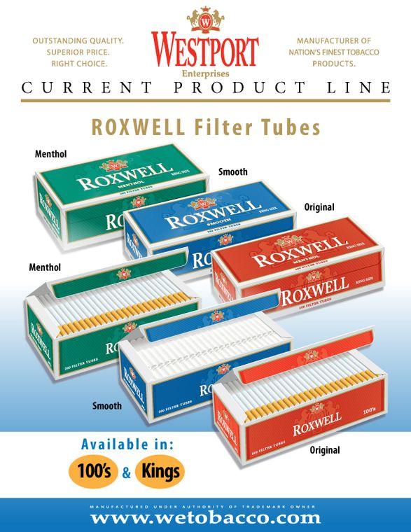 Cigarette Filter Tubes