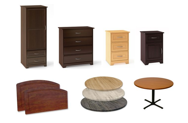 Furniture: Table Tops, Resident Rooms, Behavioral Health