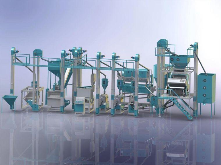 Rice Mills Production