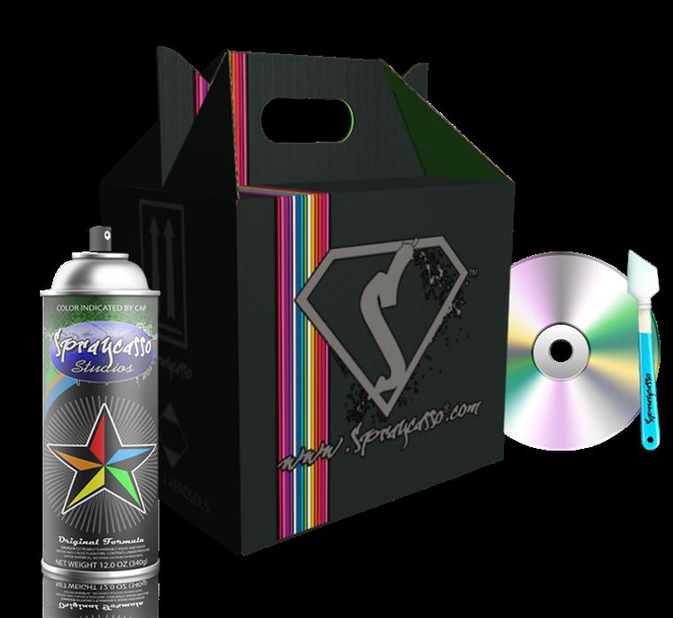 Spraycasso Spraypaint Kit