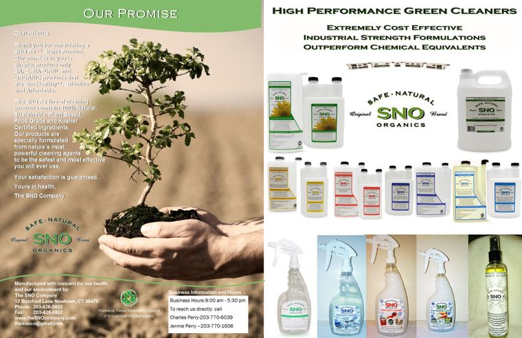 SNO=Safe Natural Organics