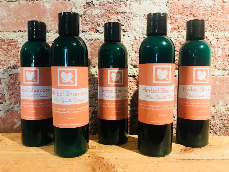 Herbal Shampoo - Hair Growth Formula