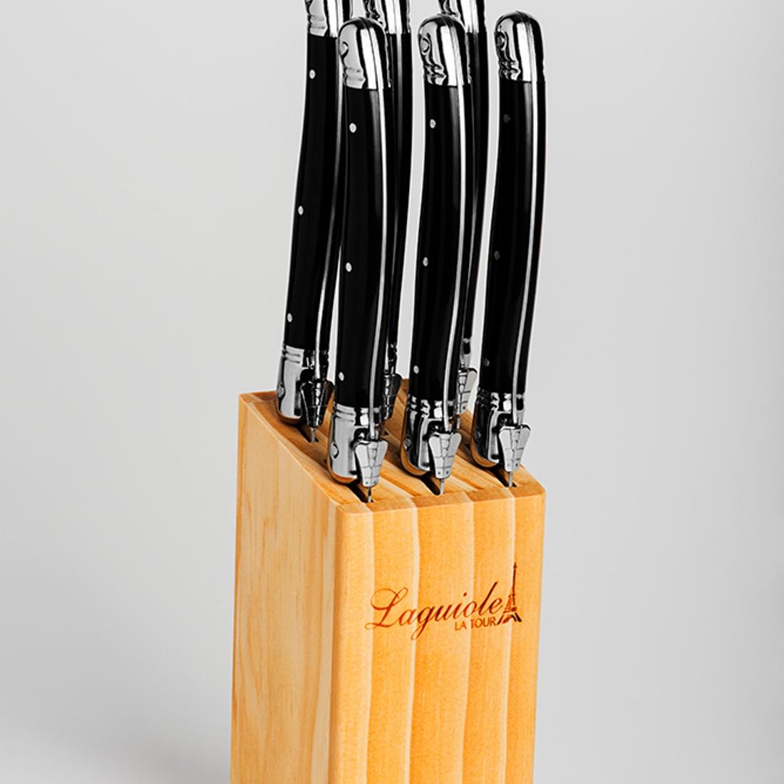 Laguiole luxury steak knives 6-set