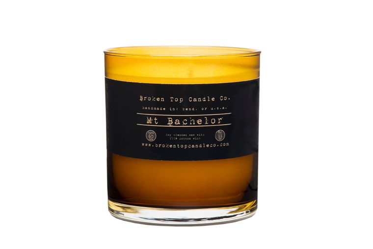 Mt. Bachelor 11 oz. Large Glass Soy Candle