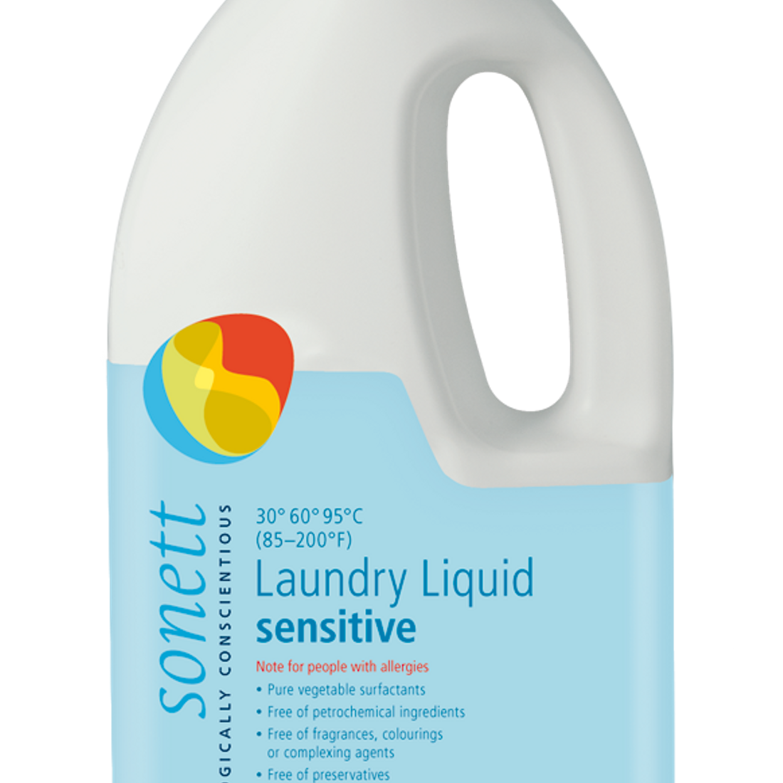 Sonett Eco Sensitive Laundry Liquid 68 fl oz / 2 Litres