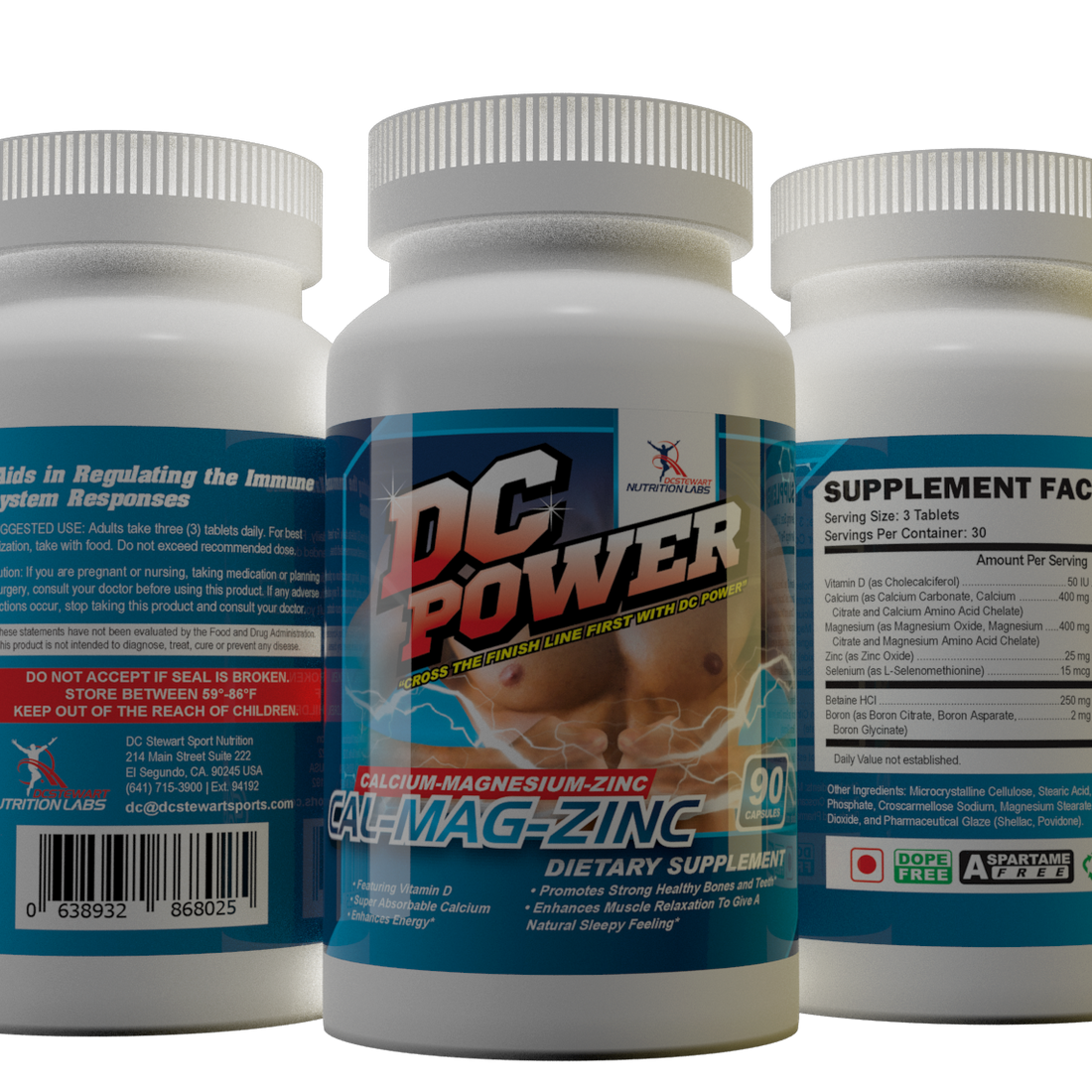 DC Power Cal-Mag-Zinc - Introducing DC Power Calcium Magnesium and Zinc