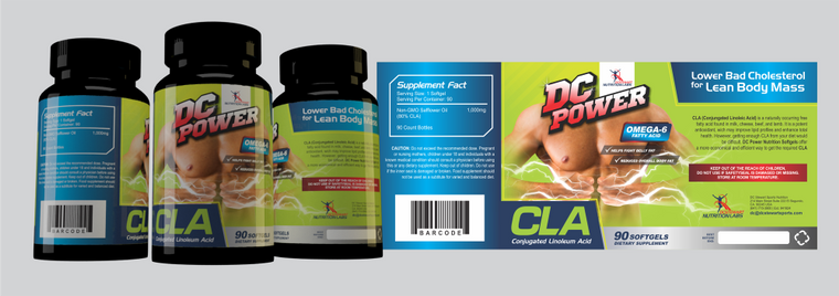 DC Power CLA - 90ct Softgels  An Elite Weight Lost Supplement!