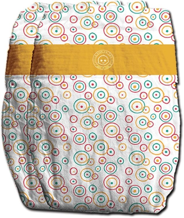 CONVENIENCE ON THE GO 2X NATURAL BAMBOO FIBER DIAPERS (SIZE: MEDIUM)