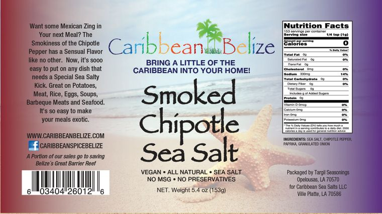 Smoked Chipotle Sea Salt