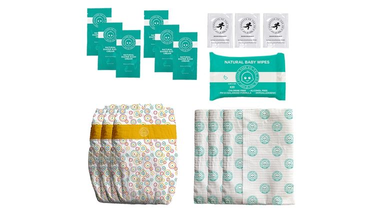 LOTTA POOP 3X COMPLETE DIAPER CHANGE SET (SIZE: MEDIUM)