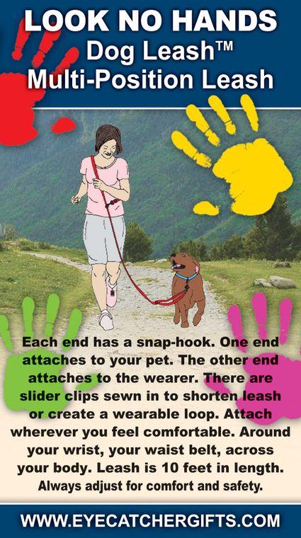 LOOK NO HANDS Dog Leash tm