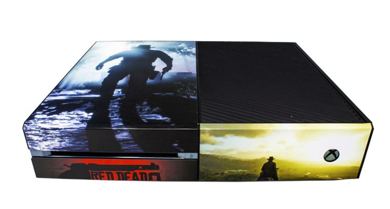 Custom Red Dead Redemption Skins for the Microsof XBox One Console and Controllers