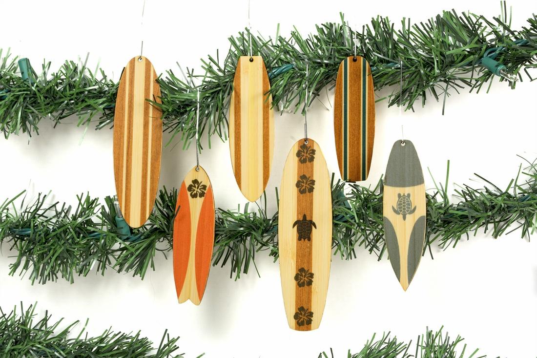 Classic Surfboard Ornaments