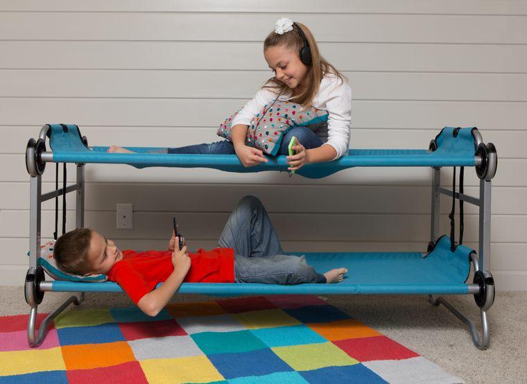 Kid-O-Bunk - The Portable, Modular Bunk Bed for Kids