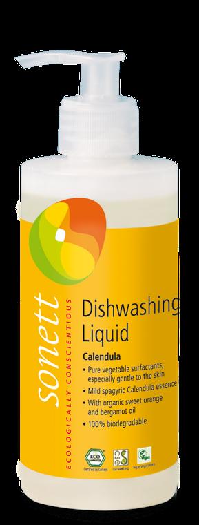 Sonett Eco Dishwashing Liquid Calendula 10 fl oz./ 300 ml