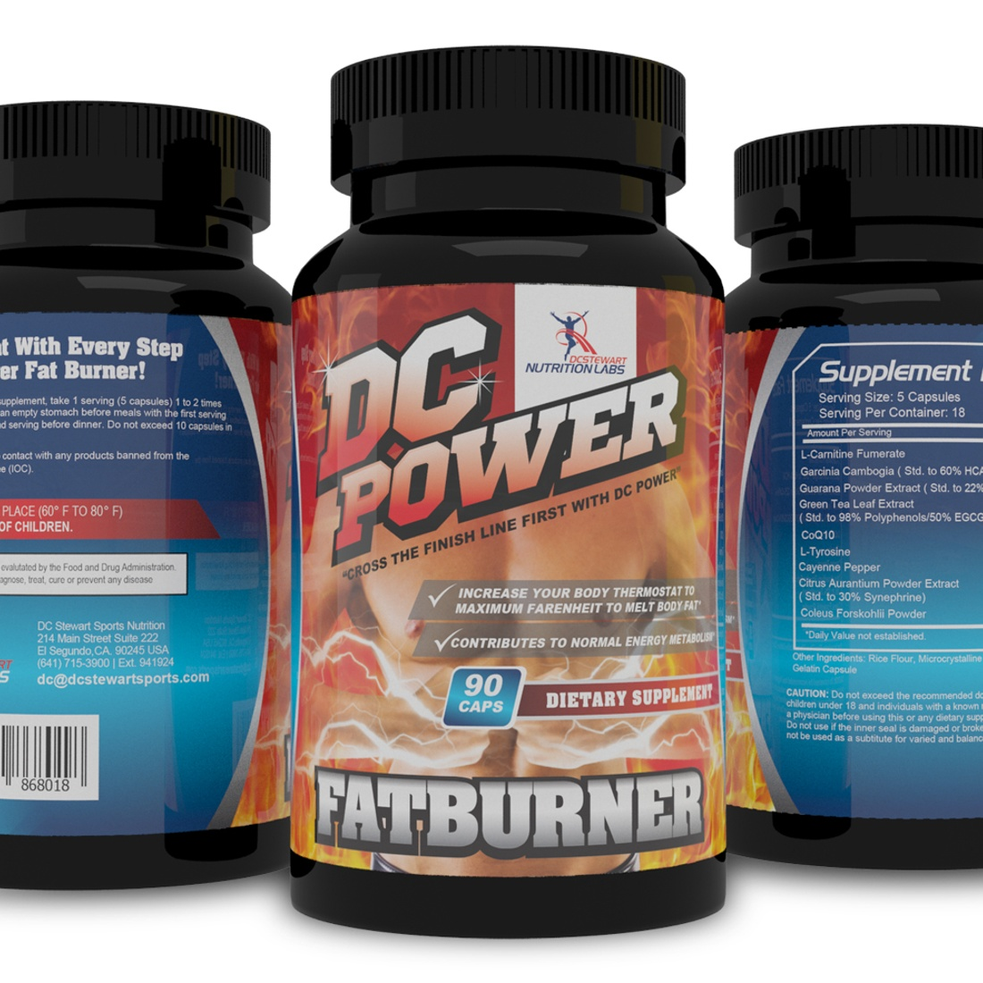 DC Power Fat Burner - Turn Up Your Body Thermostat!