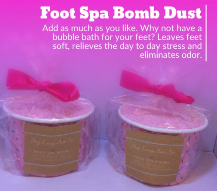 Foot Spa Bomb Dust