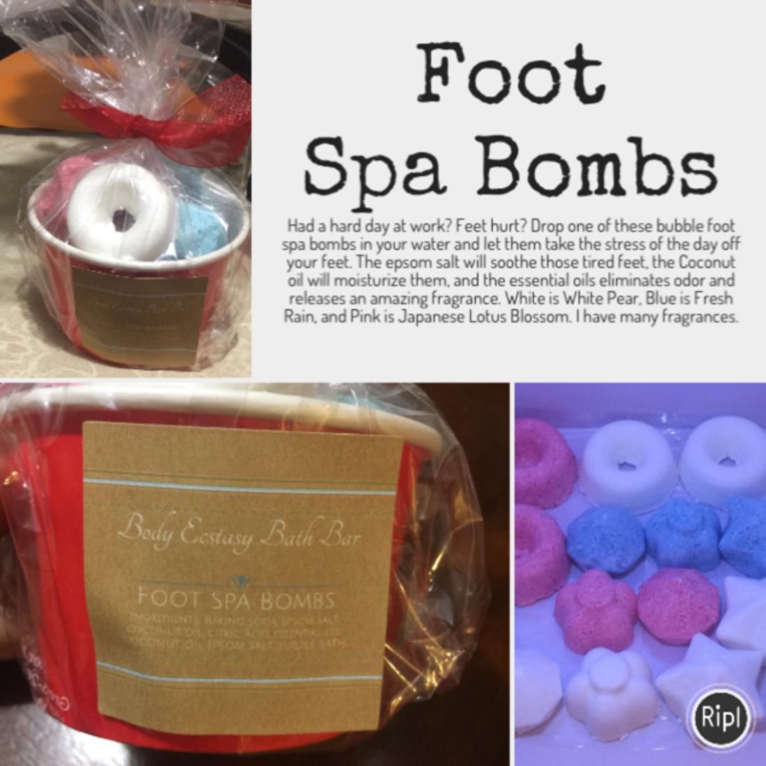 Foot Spa Bombs