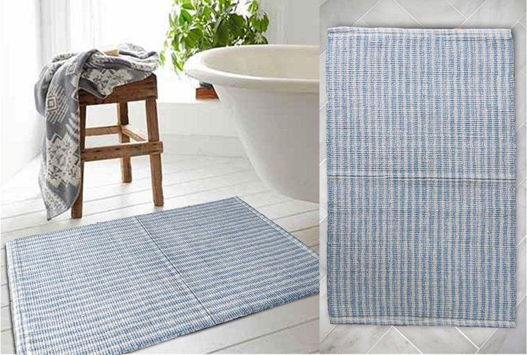 Tufted Bath Rugs with Anti Skid Backing