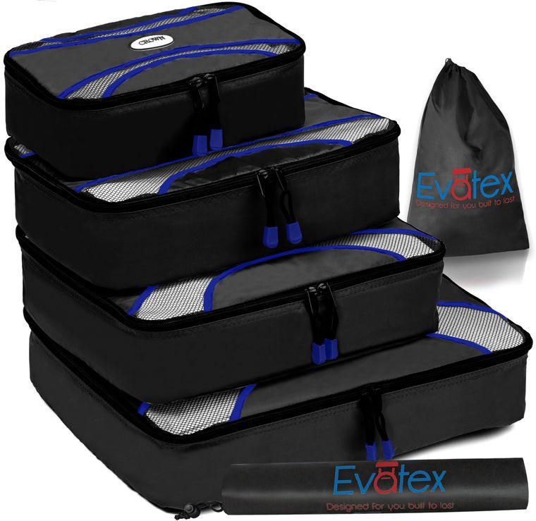 Evatex Packing Cubes