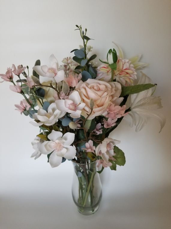 White Romance Flower Arrangement