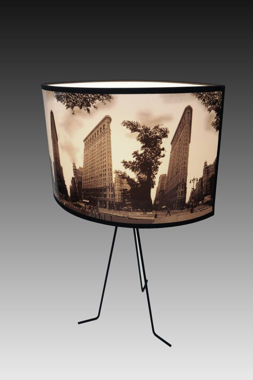 Flatiron building Retro lamp