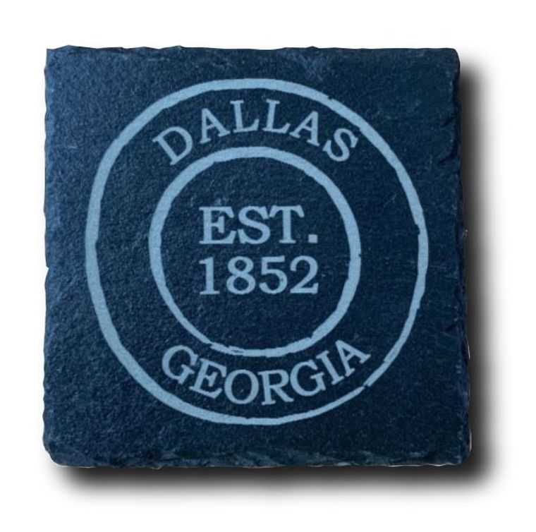 City Stamp Slate Coasters