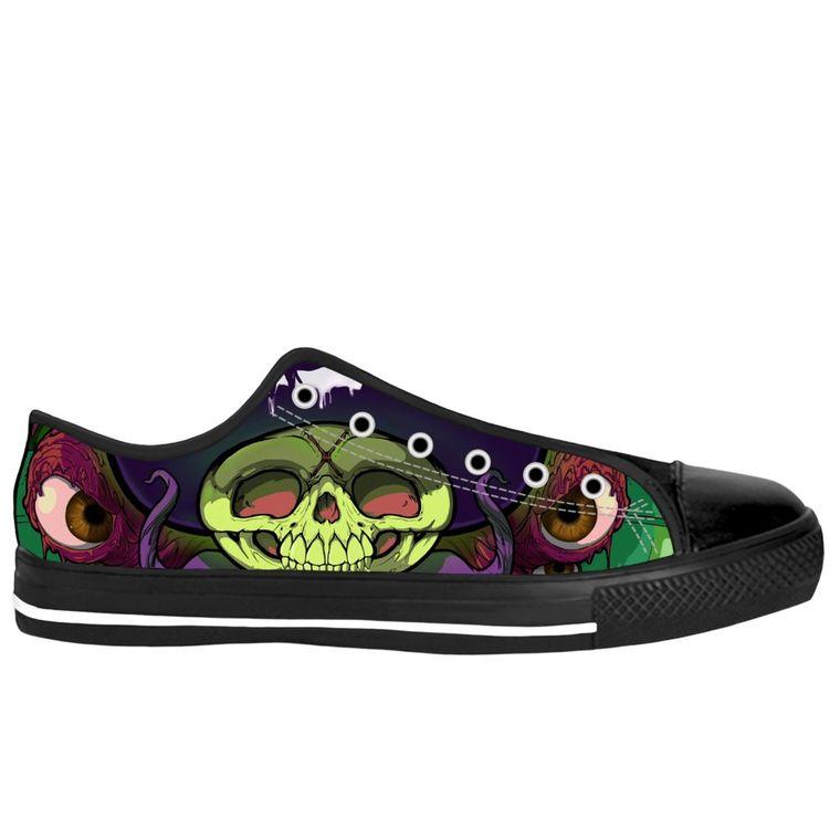 Deathshroom lowtop sneakers